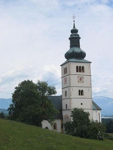 Crngrob cerkev